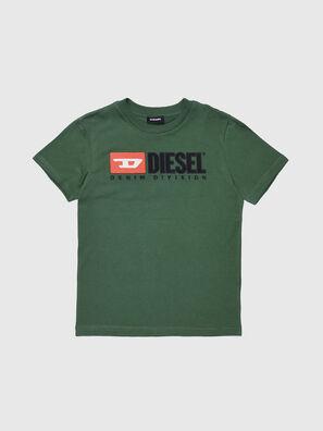 TJUSTDIVISION, Verde Botella - Camisetas y Tops