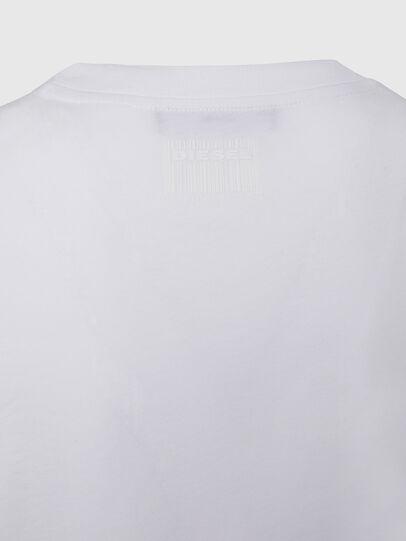 Diesel - T-SILY-E50, Blanco - Camisetas - Image 4