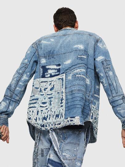 Diesel - D-HISAKY-SY, Blue Jeans - Camisas de Denim - Image 2