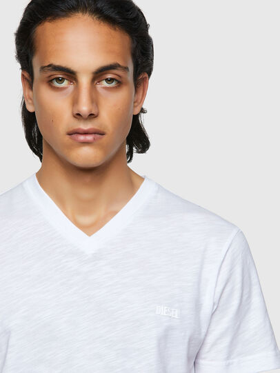 Diesel - T-NORRIE, Blanco - Camisetas - Image 3