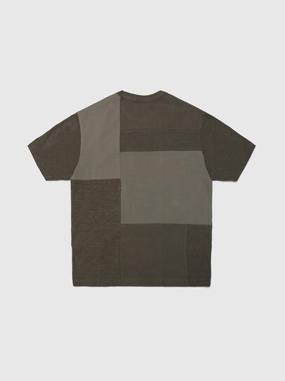 Diesel - TATCHWORK OVER, Verde Militar - Camisetas y Tops - Image 2