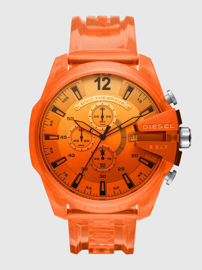 Diesel - DZ4533, Naranja - Relojes - Image 1