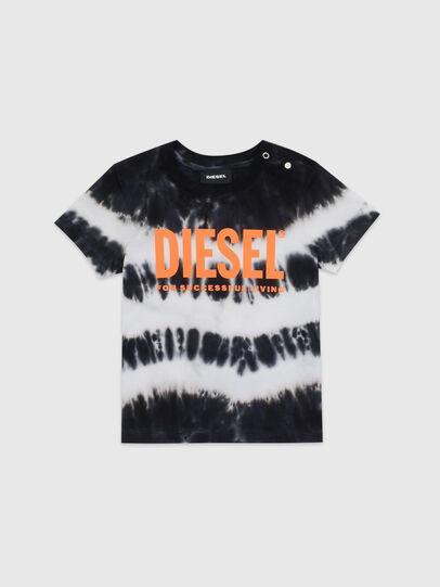 Diesel - TAREZB, Negro/Blanco - Camisetas y Tops - Image 1