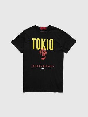 LCP-T-DIEGO-TOKIO, Negro - Camisetas