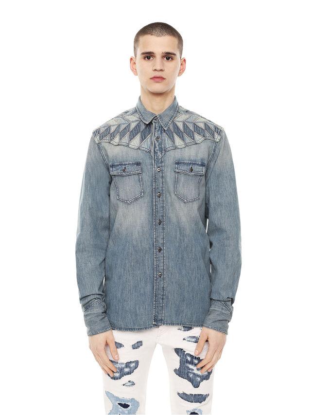 Diesel - SULLYVAN, Blue Jeans - Camisas - Image 1