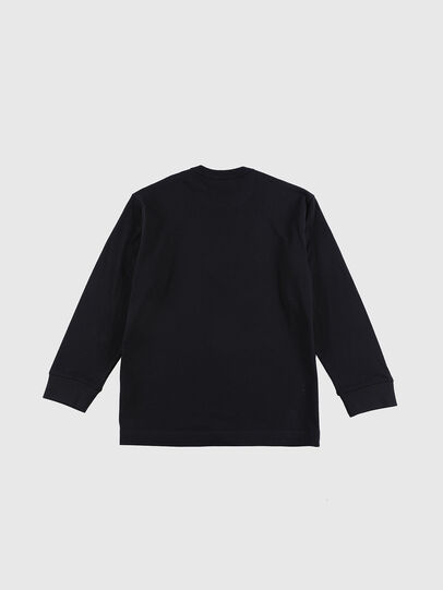 Diesel - TEDRI OVER, Negro/ Rojo - Camisetas y Tops - Image 2