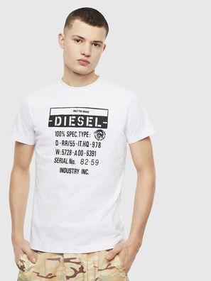 T-DIEGO-S1, Blanco - Camisetas