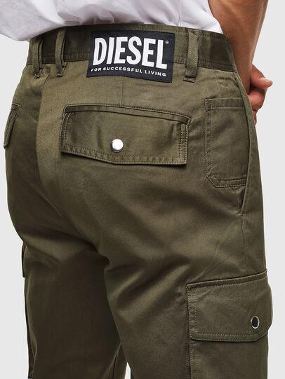 Diesel - P-JARED-CARGO, Verde - Pantalones - Image 4