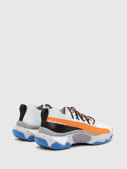 Diesel - S-KIPPER BAND, Blanco/Naranja - Sneakers - Image 3