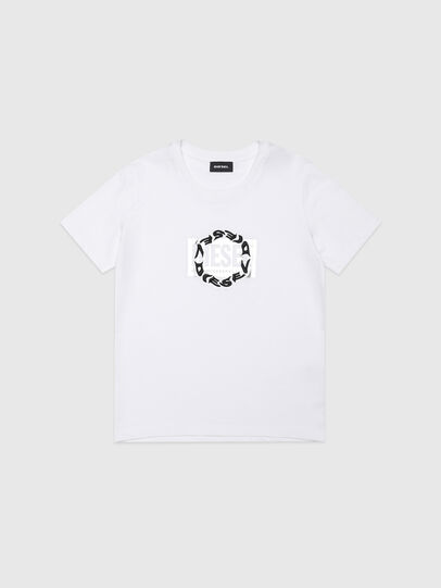 Diesel - TSILYRSUC, Blanco - Camisetas y Tops - Image 1