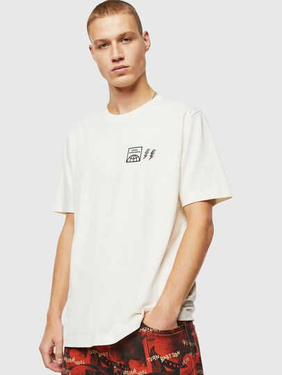 Diesel - T-JUST-VINT, Blanco - Camisetas - Image 1