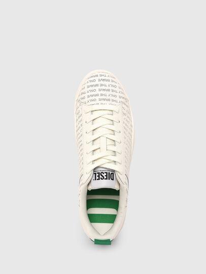 Diesel - S-CLEVER LOW LACE, Blanco/Verde - Sneakers - Image 6