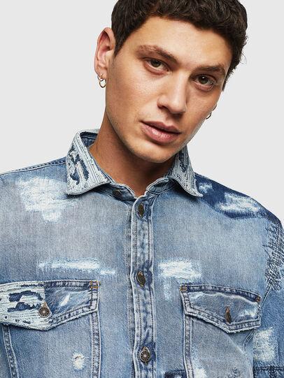 Diesel - D-HISAKY-SY, Blue Jeans - Camisas de Denim - Image 3