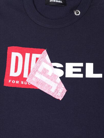 Diesel - TEDRI OVER, Azul Marino - Camisetas y Tops - Image 3