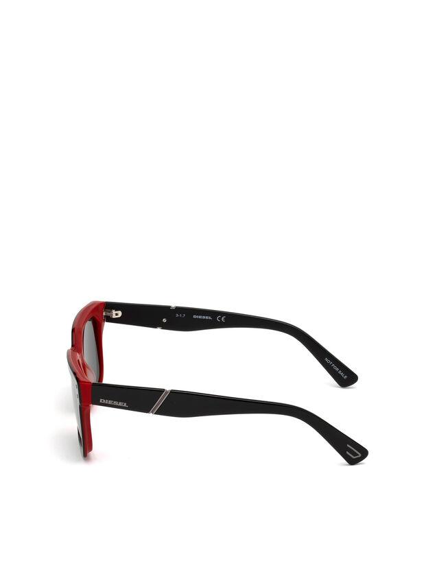 Diesel - DL0253, Negro/ Rojo - Gafas de sol - Image 3