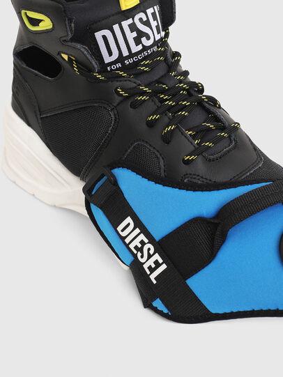 Diesel - S-SHARQUEZ MID, Negro - Sneakers - Image 4