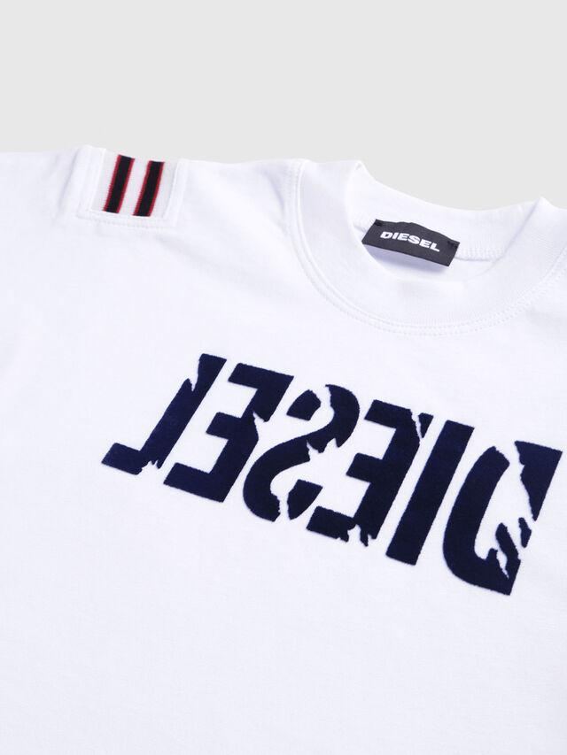 Diesel - TRYLLB-R, Blanco - Camisetas y Tops - Image 3