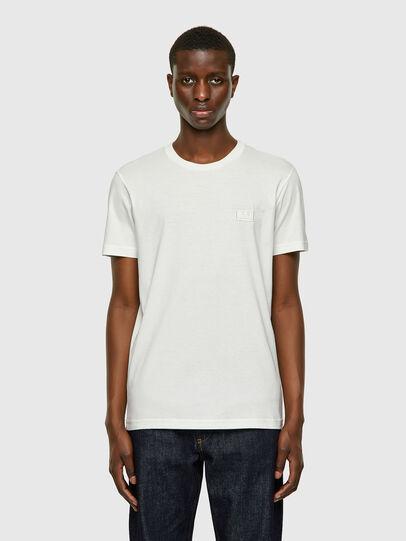 Diesel - T-DIEGOS-E2, Blanco - Camisetas - Image 1