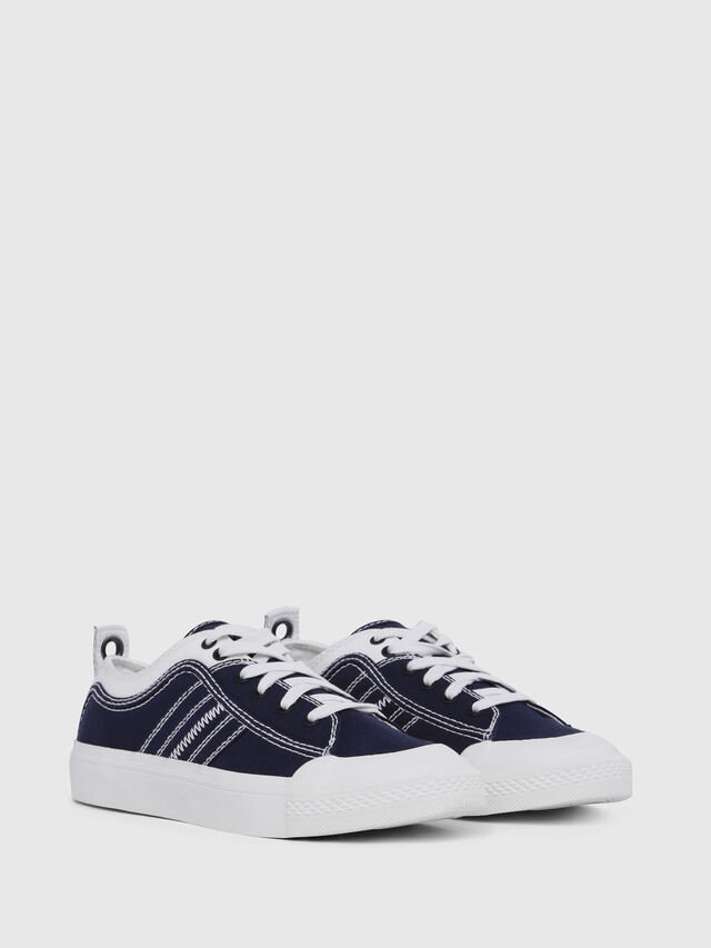 Diesel - S-ASTICO LOW LACE W, Azul/Blanco - Sneakers - Image 2