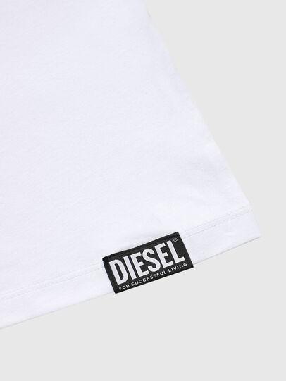Diesel - UMTEE-MICHAEL, Blanco - Tops - Image 3