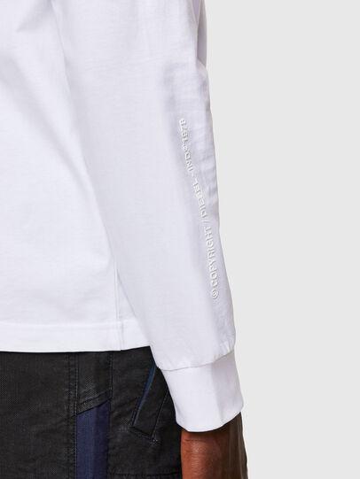 Diesel - T-JUST-LS-A30, Blanco - Camisetas - Image 4