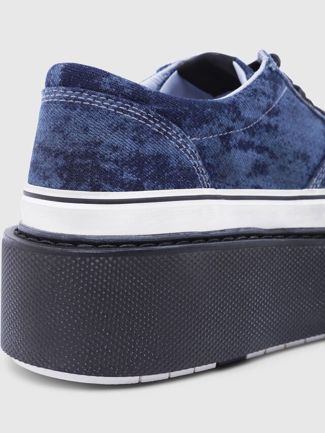 Diesel - H-SCIROCCO LOW, Azul - Sneakers - Image 5