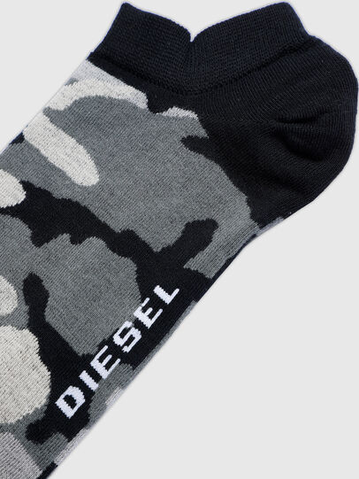 Diesel - SKM-GOST, Negro/Gris - Calcetines cortos - Image 2