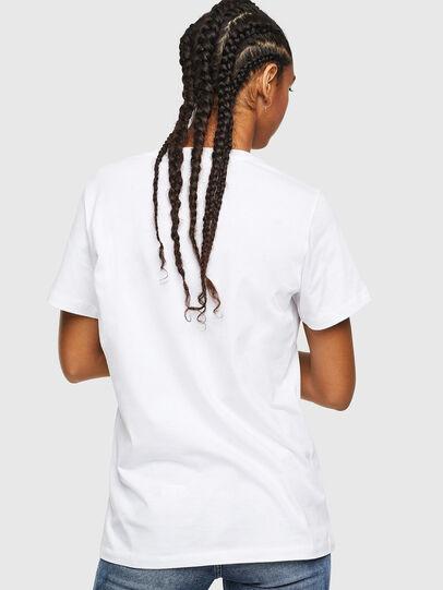 Diesel - T-DARIA-YC, Blanco - Camisetas - Image 2
