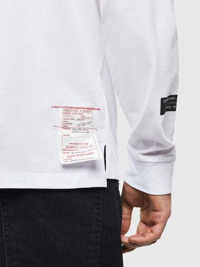 Diesel - T-JUSTLY, Blanco - Camisetas - Image 5