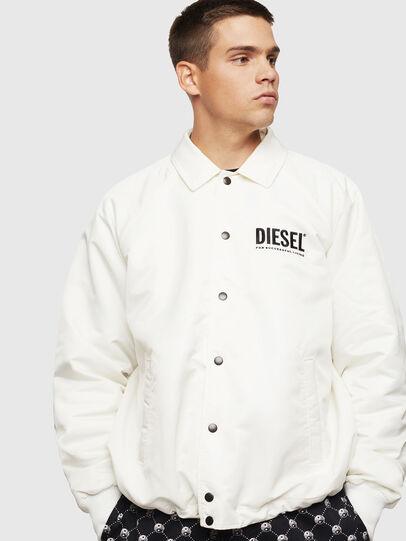 Diesel - J-AKIO-A, Blanco - Chaquetas - Image 1
