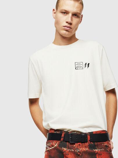 Diesel - T-JUST-VINT, Blanco - Camisetas - Image 4