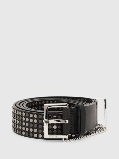 Diesel - B-STAD, Negro - Cinturones - Image 1