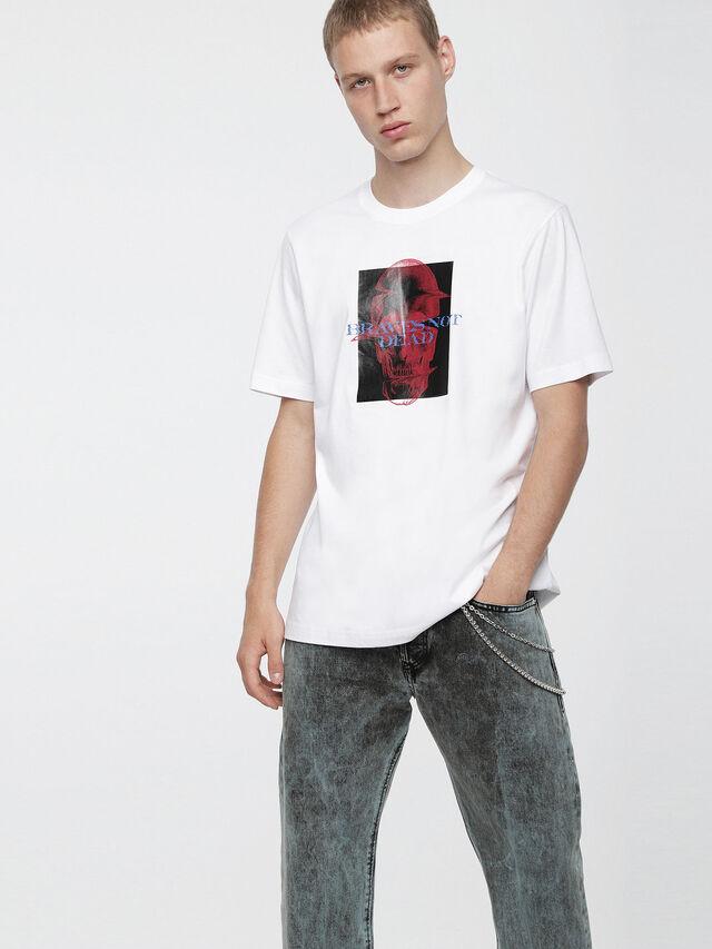 Diesel - T-JUST-XV, Blanco - Camisetas - Image 1