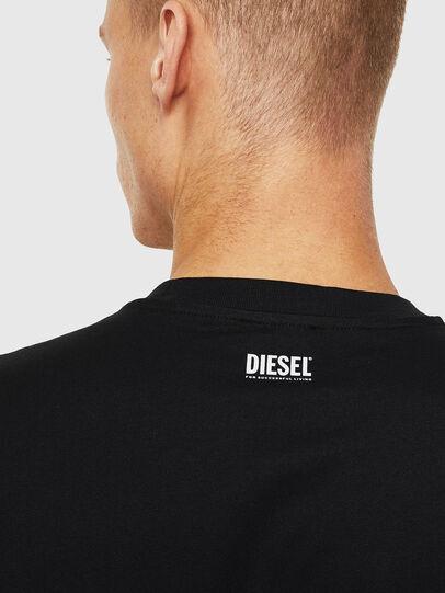 Diesel - T-JUST-J13, Negro - Camisetas - Image 3