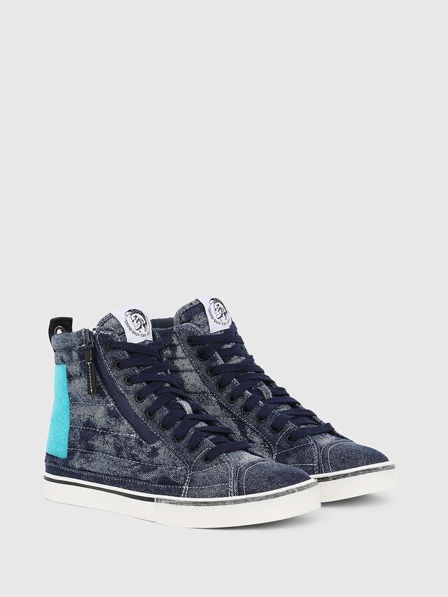 Diesel - D-VELOWS MID PATCH, Azul - Sneakers - Image 2