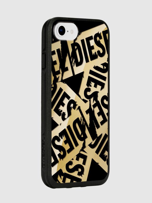 Diesel - MULTI TAPE GOLD/BLACK IPHONE 8/7/6S/6 CASE, Oro - Fundas - Image 6