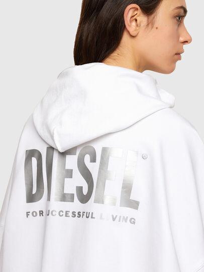 Diesel - F-BILLY-LOGO, Blanco - Sudaderas - Image 4