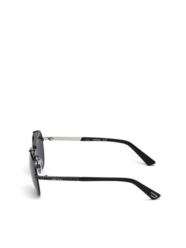 Diesel - DL0238, Negro - Gafas de sol - Image 3