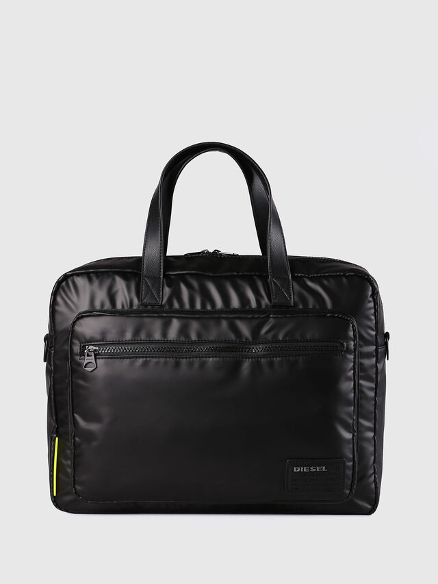 Diesel F-DISCOVER BRIEFCASE, Negro - Maletines - Image 1