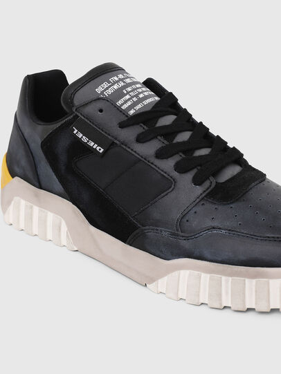 Diesel - S-RUA LOW90, Azul/Negro - Sneakers - Image 4