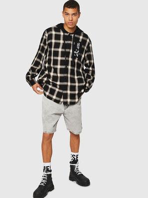 S-DOVIN, Negro/Blanco - Camisas