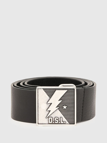 Diesel - B-MONT, Negro - Cinturones - Image 1