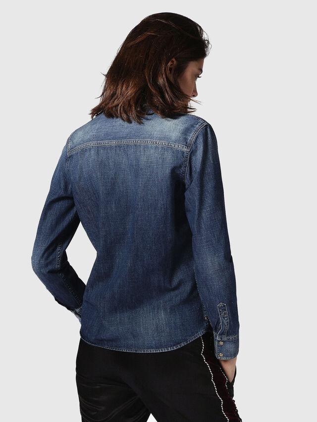 Diesel - DE-KERI, Blue Jeans - Camisas de Denim - Image 3
