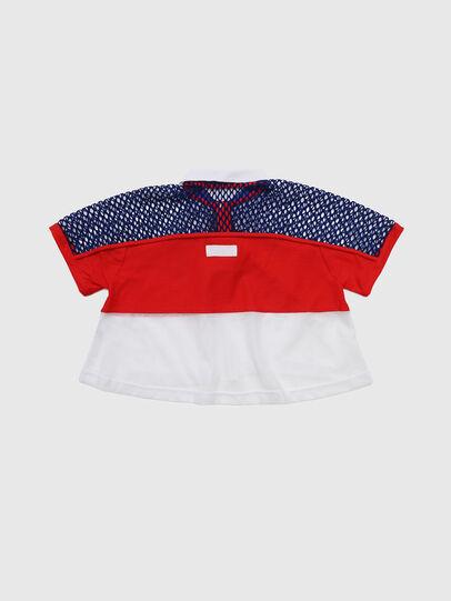 Diesel - TVAITEA, Rojo/Blanco - Camisetas y Tops - Image 2