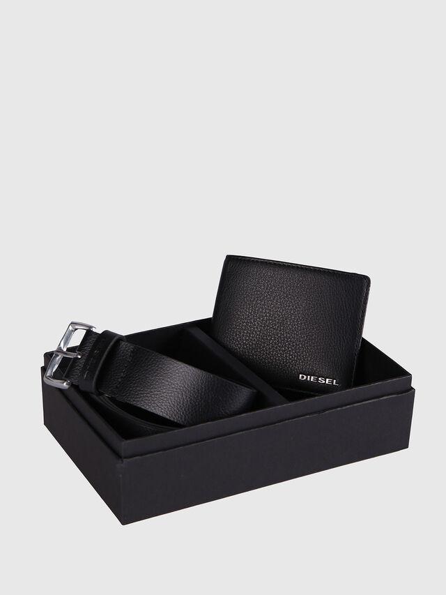 Diesel STERLING BOX I, Piel Negra - Joyas y Accesorios - Image 1