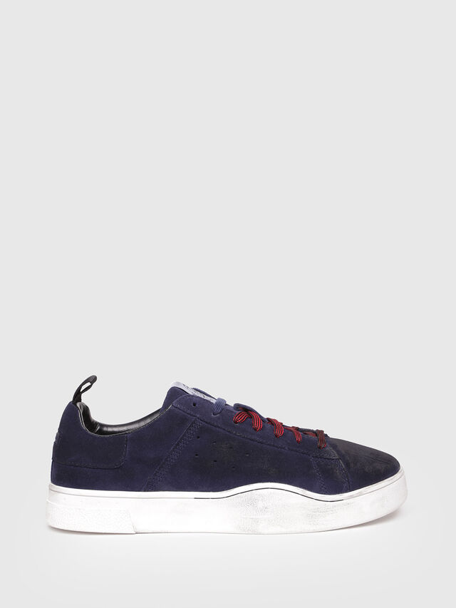 Diesel - S-CLEVER LOW, Azul Oscuro - Sneakers - Image 1