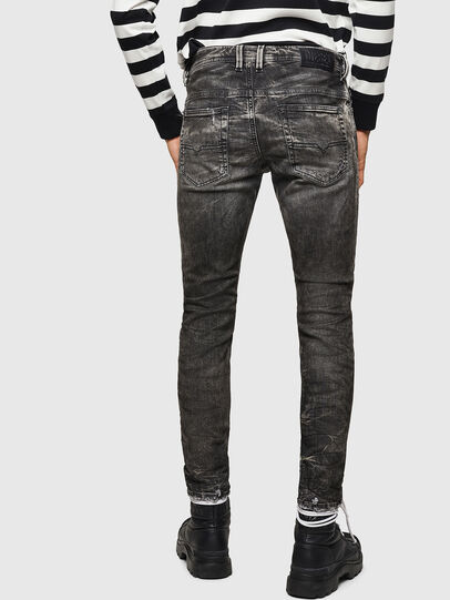 Diesel - Thommer JoggJeans 0890B, Negro/Gris oscuro - Vaqueros - Image 2