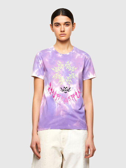 Diesel - T-SILY-A12, Lila - Camisetas - Image 1