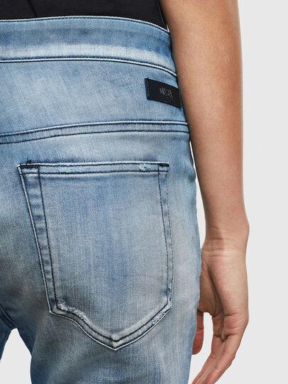 Diesel - Fayza JoggJeans 0099Q, Azul medio - Vaqueros - Image 4