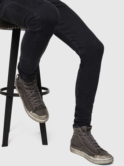 Diesel - S-ASTICO MID LACE, Gris oscuro - Sneakers - Image 5